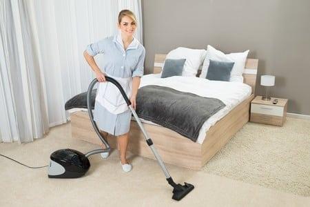 guide till att rengöra sovrum och kök